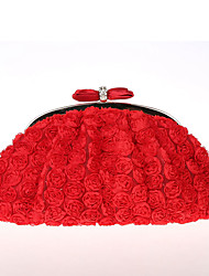 cheap -Women Bags Polyester Evening Bag Bowknot Lace Flower for Wedding Event/Party Casual Formal Office & Career Winter Spring Summer Fall All
