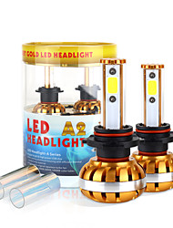 2017 nuovo 6400lm 9012 60W LED fari kit pannocchia di chip 6000K lampadine 8000K lampade pair luce