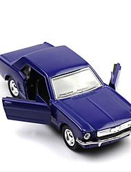 Недорогие -Игрушки Классическая машинка Гоночная машинка Игрушки Автомобиль пластик Металл Творчество Классический и неустаревающий 1 Куски Мальчики