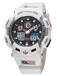 NIGHTEYE Pánské Sportovní hodinky Digitální Japonské Quartz Voděodolné Stopky Plastic Kapela Běžné nošení Černá