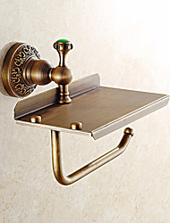 cheap -Toilet Paper Holder Contemporary Brass Wall Mounted