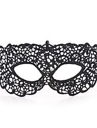 Sexy Women Black Lace Masquerade Halloween Mask Halloween Prop Cosplay Accessories