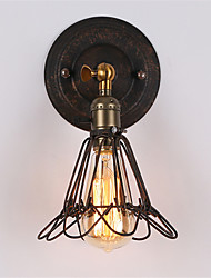 Max 60W Retro Industrial Style Country Metal Wall Lights Restaurant Cafe Mini Wall Sconces