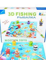 Soulage le Stress Jeu de Rôle Jouets de pêche Jouets Poissons 3D Enfant 1 Pièces