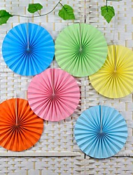 14 inch Decorative Crafts 35CM 1PCS Flower Origami Paper Fan Wedding Decoration Home Decorations Birthday Party Decorations Kids