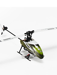 cheap -RC Helicopter WL Toys K100 6CH 6 Axis 2.4G Brushless Electric - Ready-to-go Upside Down Flight Remote Control / RC Flybarless