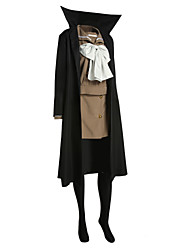 cheap -Inspired by Shakugan no Shana Shana Anime Cosplay Costumes Cosplay Suits Patchwork Long Sleeves Coat Top Skirt Ribbon For Women's