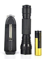 2000LM XM-L T6 LED  18650 Tactical Flashlight Torch Lamp Light (Full Set)