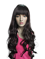 cheap -Deep Wavy Synthetic Fiber Wig Capless Heat Cosplay Costume Hairstyle With Cap
