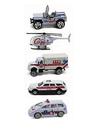 Fahrzeug-Spiele nach Themen Fahrzeuge aus Druckguss Spielzeugautos Rettungswagen Spielzeuge Auto Metalllegierung Metal Klassisch &