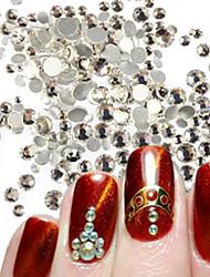 400-500pcs/bag Manucure Dé oration strass Perles Maquillage cosmétique Nail Art Design
