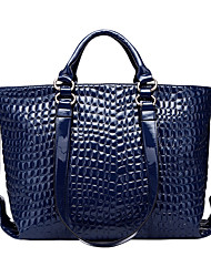 cheap -Women Bags PU Tote for Wedding Event/Party Casual Sports Formal Outdoor Office & Career All Seasons Blue Black Wine