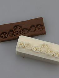 Chick Soap Letters Shape DIY Handmade Soap Seals Tool Design
