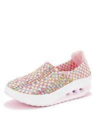 Damen-Loafers & Slip-Ons-Outddor Lässig Sportlich-maßgeschneiderte Werkstoffe-Creepers-Kinderbett Schuhe-Grün Rosa Hellblau