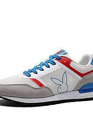 cheap -Men's Sneakers Rubber Running Wearproof Rubber White / Black / Navy Blue