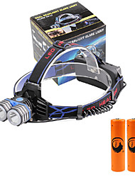 U'King Headlamps LED 4000 Lumens 3 Mode Cree XM-L T6 Yes Compact Size Emergency Mobile Power Supply Easy Carrying High Power Multifunction