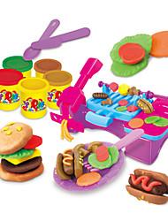 Недорогие -Играть в тесто, пластилин и шпатлевка Ролевые игры Игрушки Своими руками Оригинальные пластик Ластик Подарок 1pcs