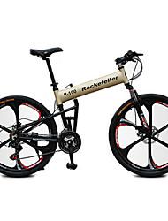 abordables -Vélo tout terrain / Vélo pliant Cyclisme 21 Vitesse 26 pouces / 700CC Shimano Frein à Disque Fourche de suspension Antidérapant Acier