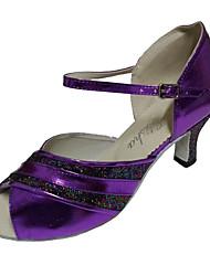 Для женщин-Дерматин-Персонализируемая(Фиолетовый) -Латина