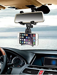 cheap -Car Phone Holder  INSOU 360 Degree Universal Adjustable Car Rear-view Mirror Mount Mobile Phone Holder Stands for Smartphones