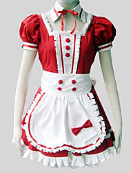 Lolita Classique/Traditionnelle Princesse Femme Tenus de Servante Cosplay Gigot / Ballon Manches Courtes