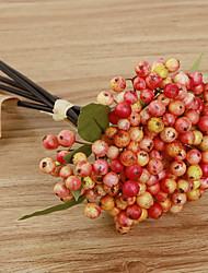 5 Branch Styrofoam Wild Berries  Home Decoration Artificial Flowers