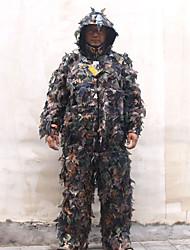 baratos -Homens Mulheres Unisexo Manga Longa Vestuário 3-D de caça Grossa camuflagem Conjuntos de Roupas para Caça S M L XL XXL