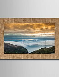 cheap -Giclee Print Famous Landscape Classic Realism,One Panel Horizontal Panoramic Print Wall Decor For Home Decoration