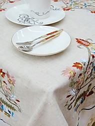 Square Embroidered TableCloth For Sale Embroidery Tablecloth Classical Tablecloth Tablecloth 85*85cm