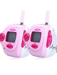 820 2pcs relógio de pulso talkie estilo walkie
