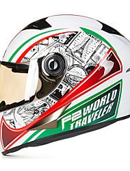 Недорогие -Веон б-500 мотоцикл полный шлем абс анти-туман анти-УФ шлем безопасности унисекса моды