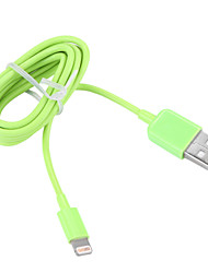Lightning USB 3.0 Kabel Opladerkabel Opladerledning Data & Synkronisering Normal Kabel Til Apple iPhone iPad 100 cm Plastik