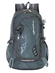 45L L Backpack Camping & Hiking Waterproof Wearable Orange Ruby LightBlue Gray Purple Nylon