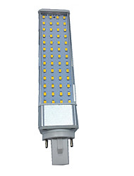 10W G23 G24 E26/E27 LED Bi-pin Lights T 55 SMD 2835 1000-1100 lm Warm White Cold White 3000/6000 K Decorative AC 85-265 AC 220-240 AC