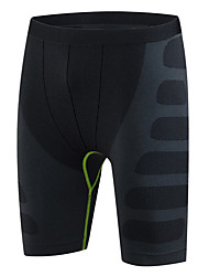 Men's Running Shorts Running Tight Shorts Quick Dry Compression Comfortable Shorts Bottoms Exercise & Fitness Leisure Sports Running