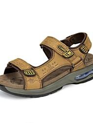 Camel Men's Outdoor Stylish Athletic Sandals Durable Beach Lightweight Sandal  Color Khaki/Brown
