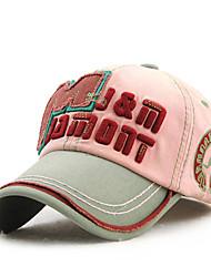 preiswerte -unisex Mode Vintage-Baumwollbaseballmütze Sonnenhut Männer Frauen Patchwork einstellbar Outdoor-Sport-beiläufiger Sommer alle Jahreszeiten