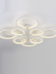 8 Heads Modern Style Simplicity Acrylic LED Ceiling Lamp Flush Mount Living Room Dining Room  light Fixture