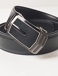 Men's casual fashion concept leather automatic buckle With the body is about 3.6 cm wide