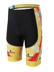 abordables -Miloto Cuissard Rembourré de Cyclisme Unisexe Vélo Shorts Rembourrés Bas Tenues de Cyclisme Compression La peau 3 densités Diminue