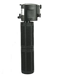 Aquarium Air Pump Water Pump Filter Noiseless Plastic AC 100-240V