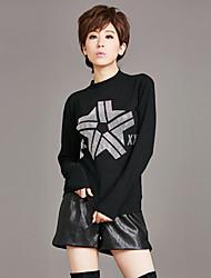Sign Europe Winter Women's new sweater half high collar warm woolen shirt bottoming outer wear hot drill