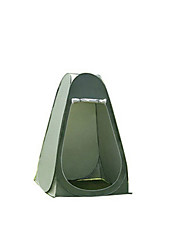 1 Pessoa Tenda Único Barraca de acampamento Um Quarto Barracas para Acampamento Família para Equitação Campismo Viajar Exterior Poliéster