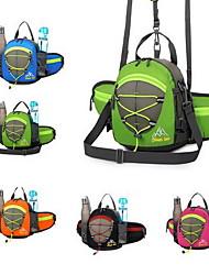Недорогие -Сумка рюкзак для Спортивные сумки Многофункциональный Водонепроницаемость Дожденепроницаемый Сумка для бега Все Сотовый телефон Нейлон Красный Зеленый Синий