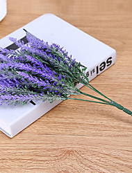 cheap -High Simulation Violet Lavender  Project Use Flower Artificial Flowers