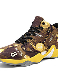 Basketball Shoes Men's Shoes Athletic  Ultralight Fashion Leisure Sports Shoes Black / Red /Yellow