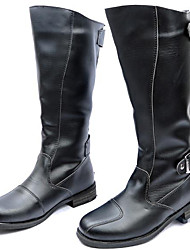 cheap -Men's Shoes Synthetic Fall / Winter Comfort / Cowboy / Western Boots / Riding Boots Boots Black / Party & Evening / Motorcycle Boots