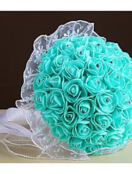 Fleurs de mariage Rond Roses Bouquets Mariage La Fête / soirée Mousse Env.21cm