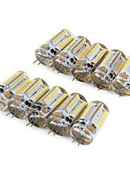 cheap -10pcs 210lm G4 LED Corn Lights T 64 LED Beads SMD 3014 Warm White Cold White 220-240V