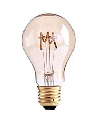 4W B22 E26/E27 Ampoules à Filament LED G60 1 diodes électroluminescentes COB Intensité Réglable Blanc Chaud 1000lm 2700-3500K AC 100-240